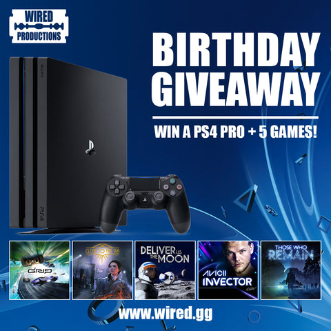 Wired Birthday Competition