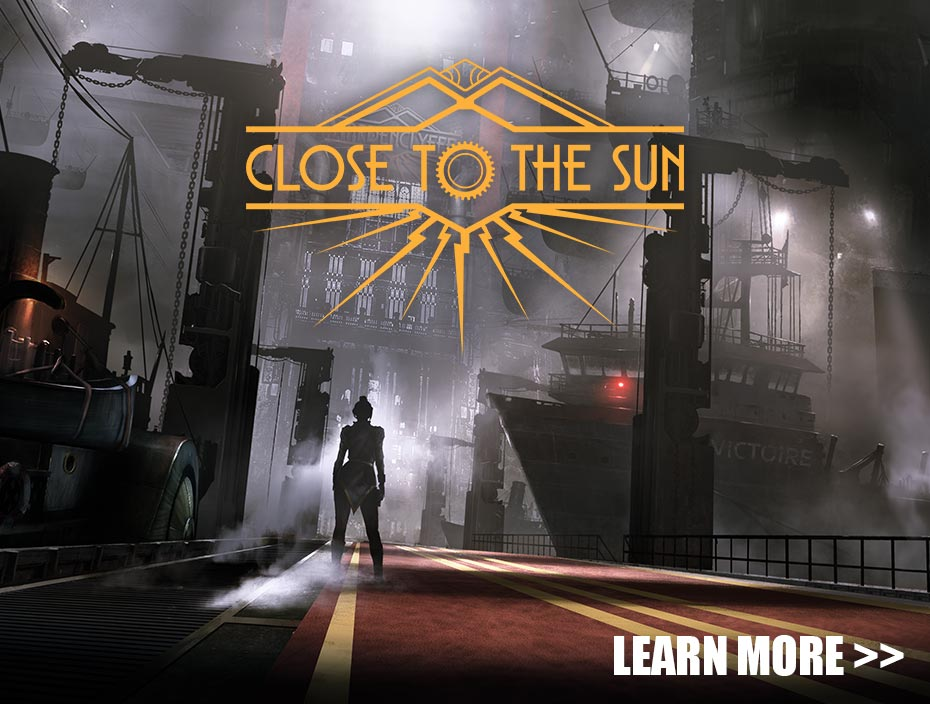 image showing the temp key art for Close to the Sun