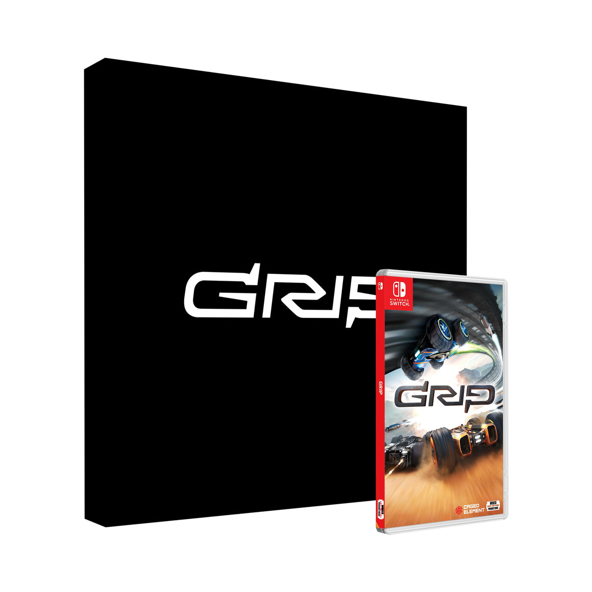 GRIP: Combat Racing Collector's Edition [Nintendo Switch] - Wired Productions