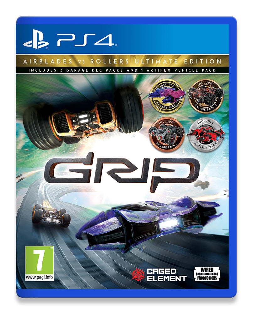 GRIP: Combat Racing - AirBlades Vs Rollers Ultimate Edition [PlayStation 4]