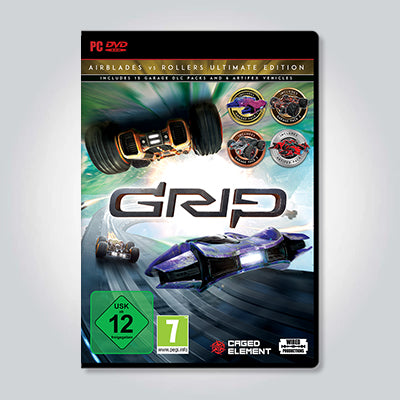 GRIP: Combat Racing - AirBlades Vs Rollers Ultimate Edition [PC]