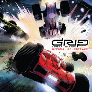 Image showing the album cover for the GRIP: Combat Racing EP