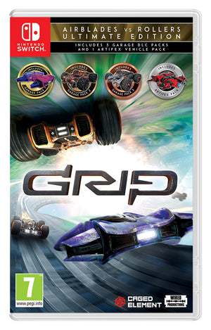 GRIP: Combat Racing - AirBlades Vs Rollers Ultimate Edition [Switch]