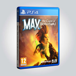 Max: The Curse of Brotherhood [Playstation 4] - Wired Productions