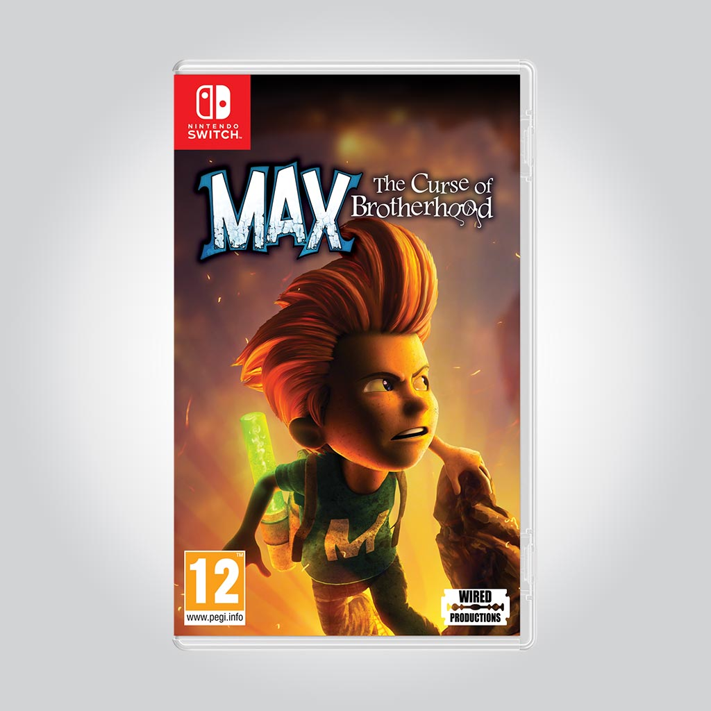 Max: The Curse of Brotherhood [Nintendo Switch] - Wired Productions