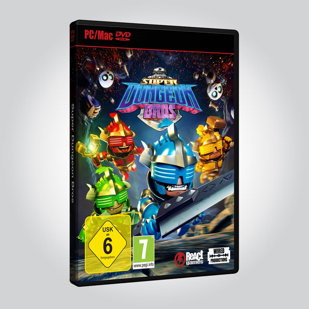 SUPER DUNGEON BROS [PC] - Wired Productions