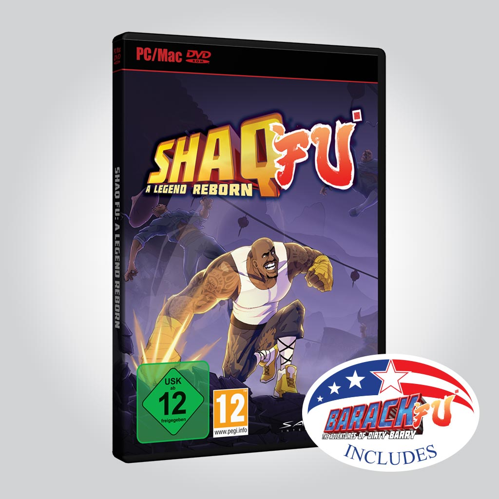 Shaq Fu: A Legend Reborn + Barack Fu [PC] - Wired Productions