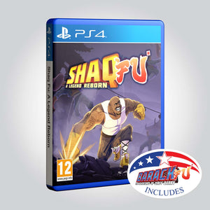 Shaq Fu: A Legend Reborn + Barack Fu [Playstation 4] - Wired Productions