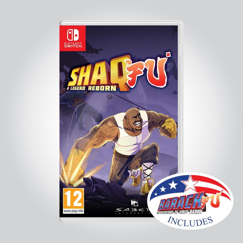 Shaq Fu: A Legend Reborn + Barack Fu [Nintendo Switch] - Wired Productions