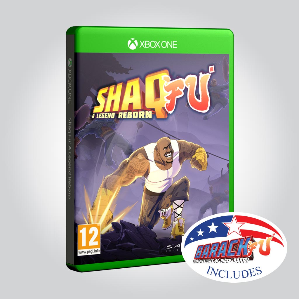 Shaq Fu: A Legend Reborn + Barack Fu [Xbox One] - Wired Productions