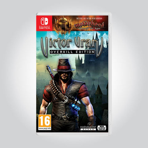 Nintendo Switch box shot of  Victor Vran: Overkill Edition