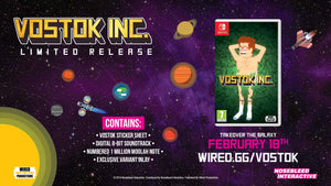Limited Wired #1: Vostok Inc. Region Free on Nintendo Switch