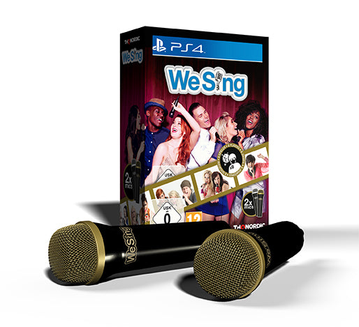 WE SING + 2 MICS [PlayStation 4] - Wired Productions