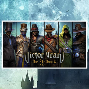 Victor Vran Digital Artbook - PC DOWNLOAD [Wired Rewards] - Wired Productions