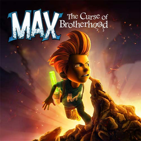 key art for max: the curse of brotherhood