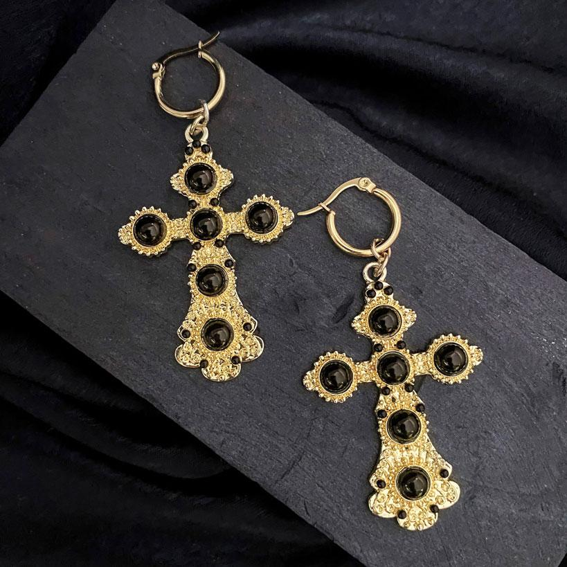 The baptist-Heraldry earrings