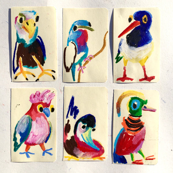 Selection of wild birds #2