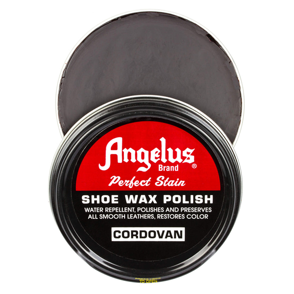Angelus Perfect Stain Wax Shoe Polish - Cordovan