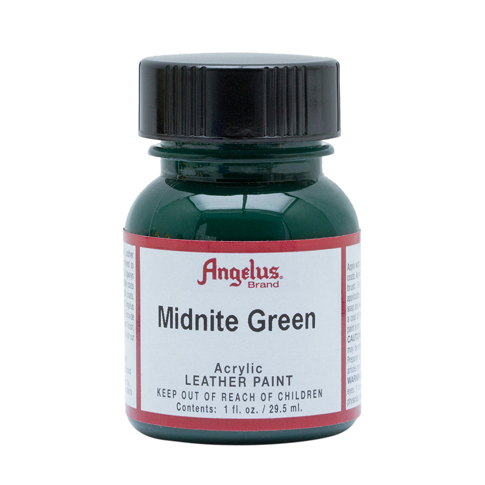 Angelus Midnite Green Leather Paint 041