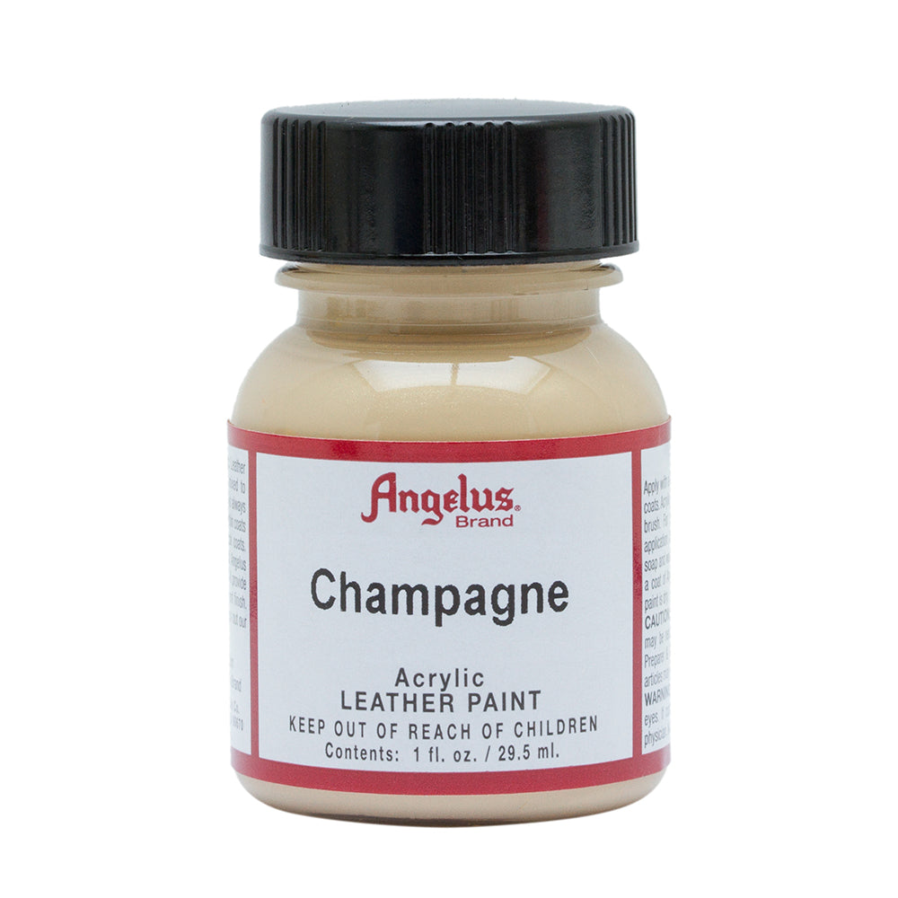 Angelus Champagne Leather Paint 017