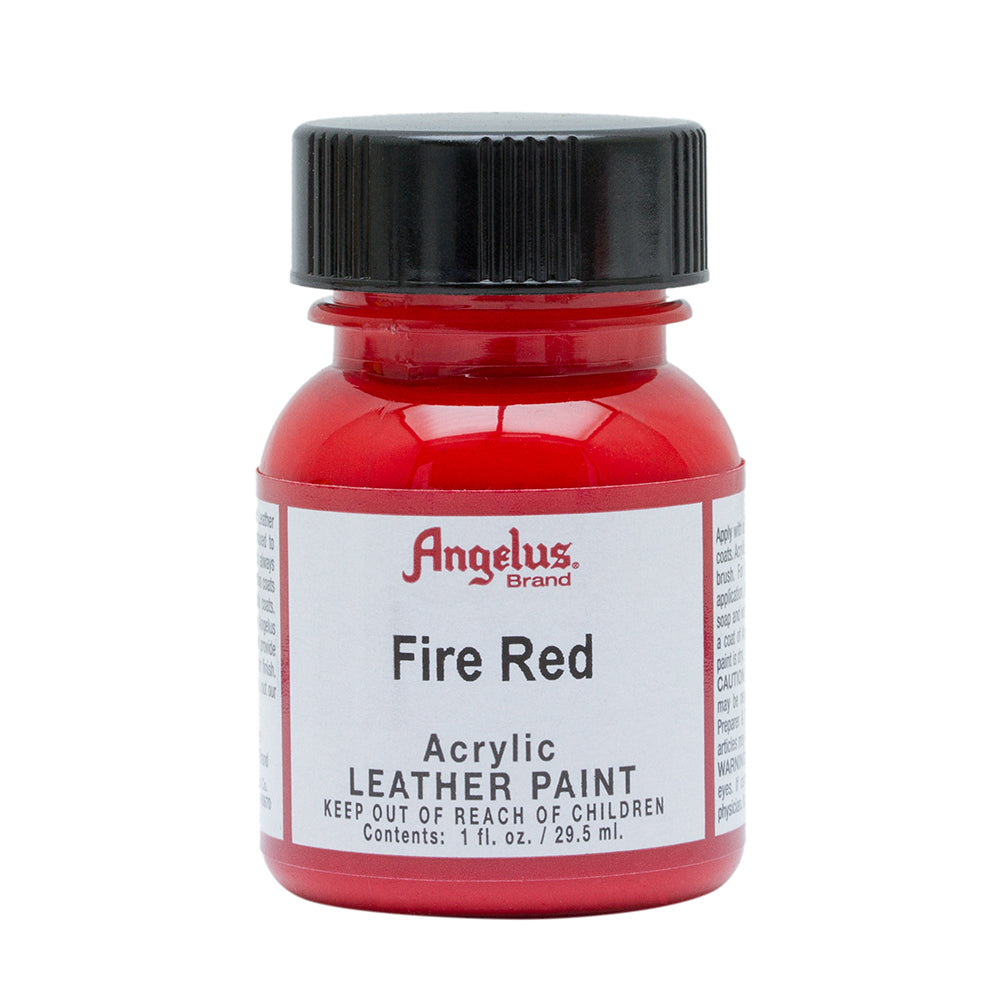 Angelus Fire Red Leather Paint 059