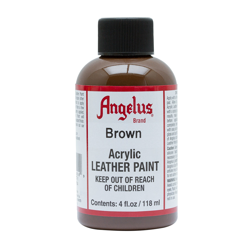 Angelus Brown Leather Paint 025