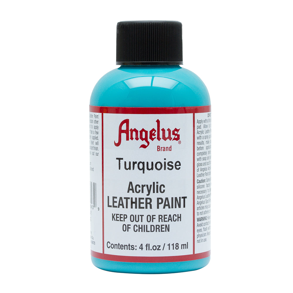 Angelus Turquoise Leather Paint 036
