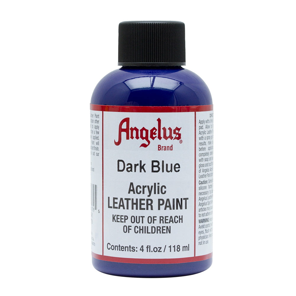 Angelus Dark Blue Leather Paint 054