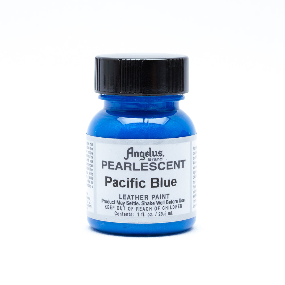 Angelus Pearlescent Leather Paint - Pacific Blue 097