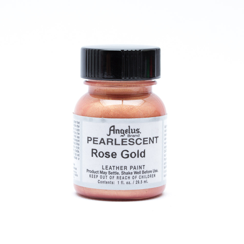 Angelus Pearlescent Leather Paint - Rose Gold 100