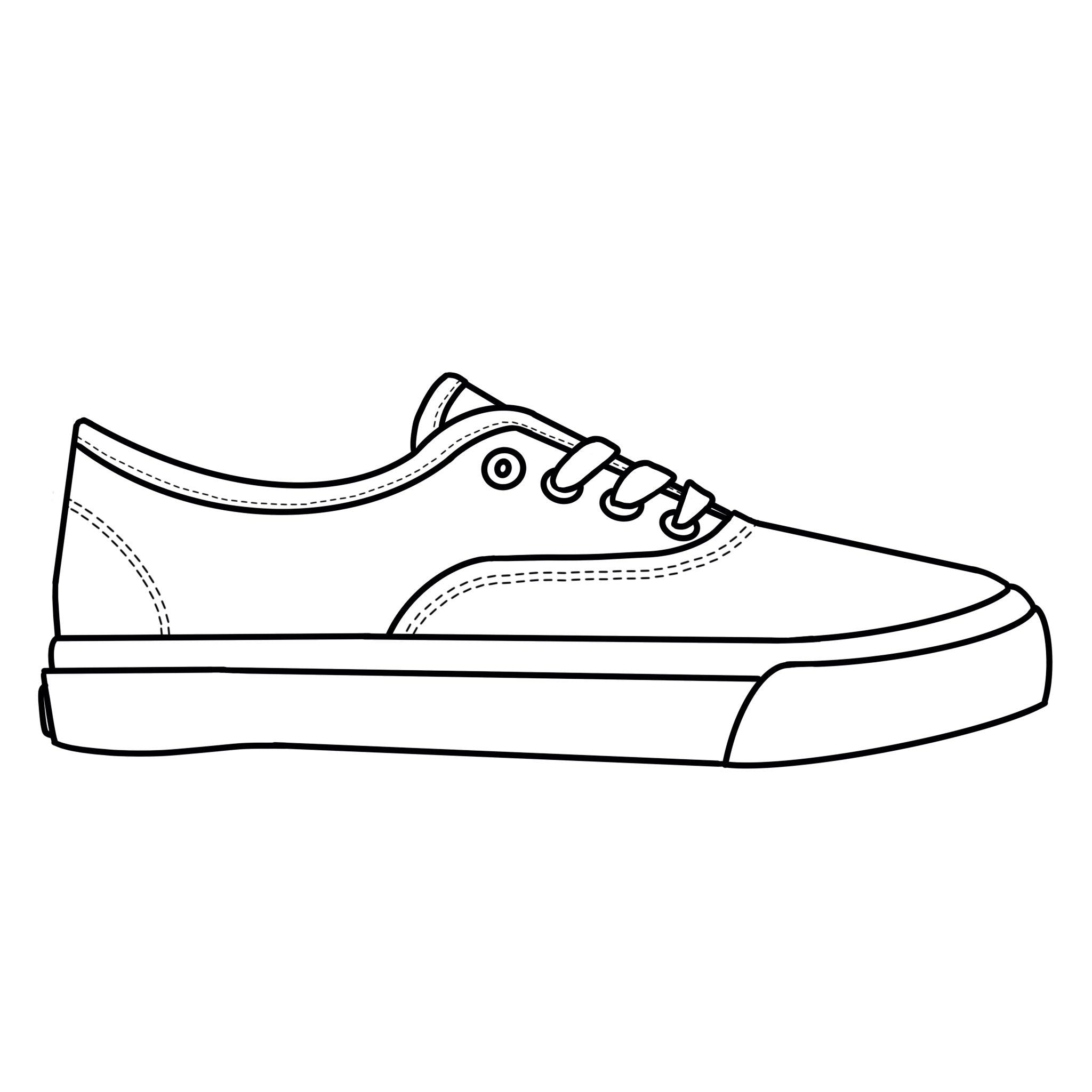 Blank Canvas - White Plimsoll Adult Size (39-41)