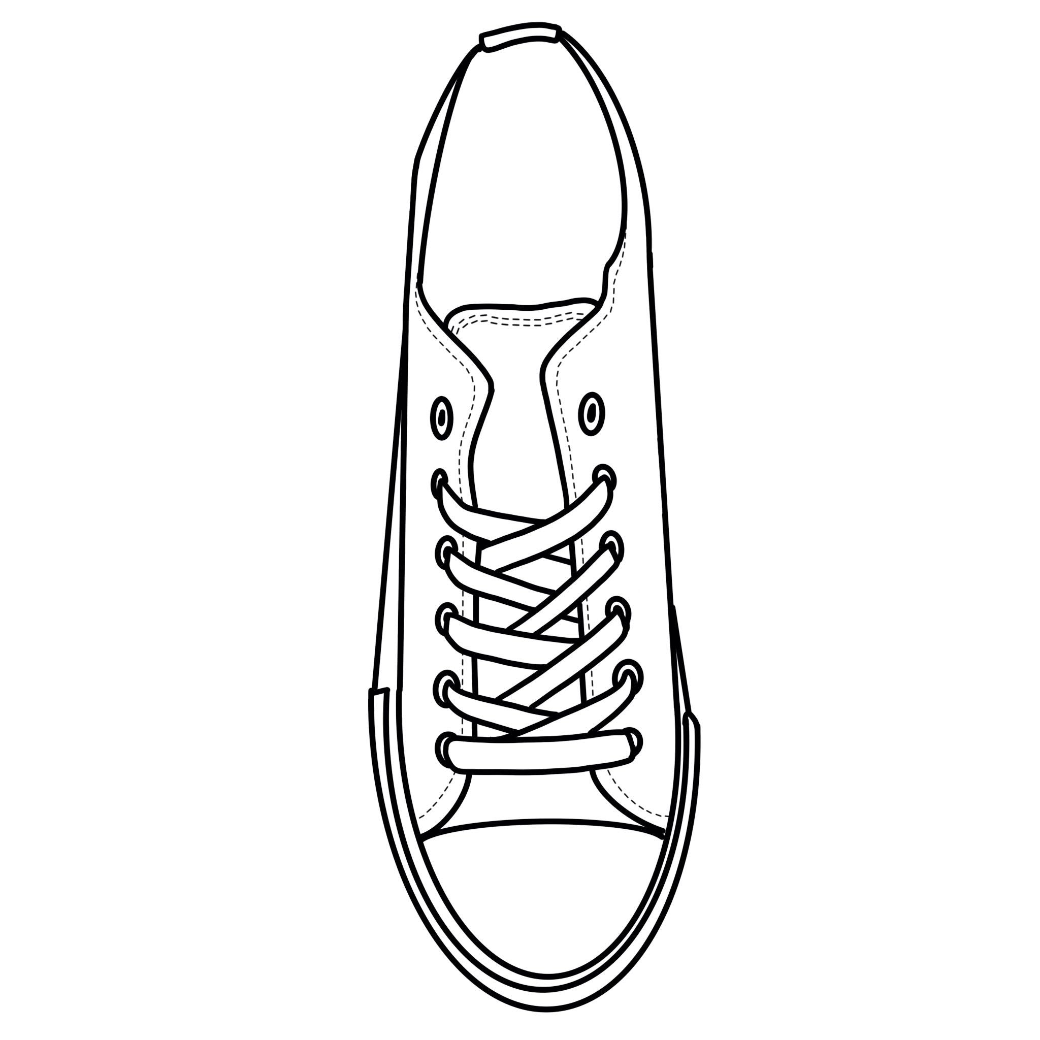 Blank Canvas - White Low Tops Shoes Adult Size (39-46)