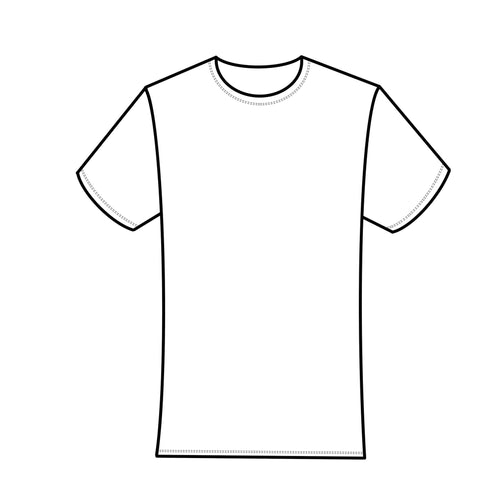 Blank Canvas - White Men's/Kids T-Shirt