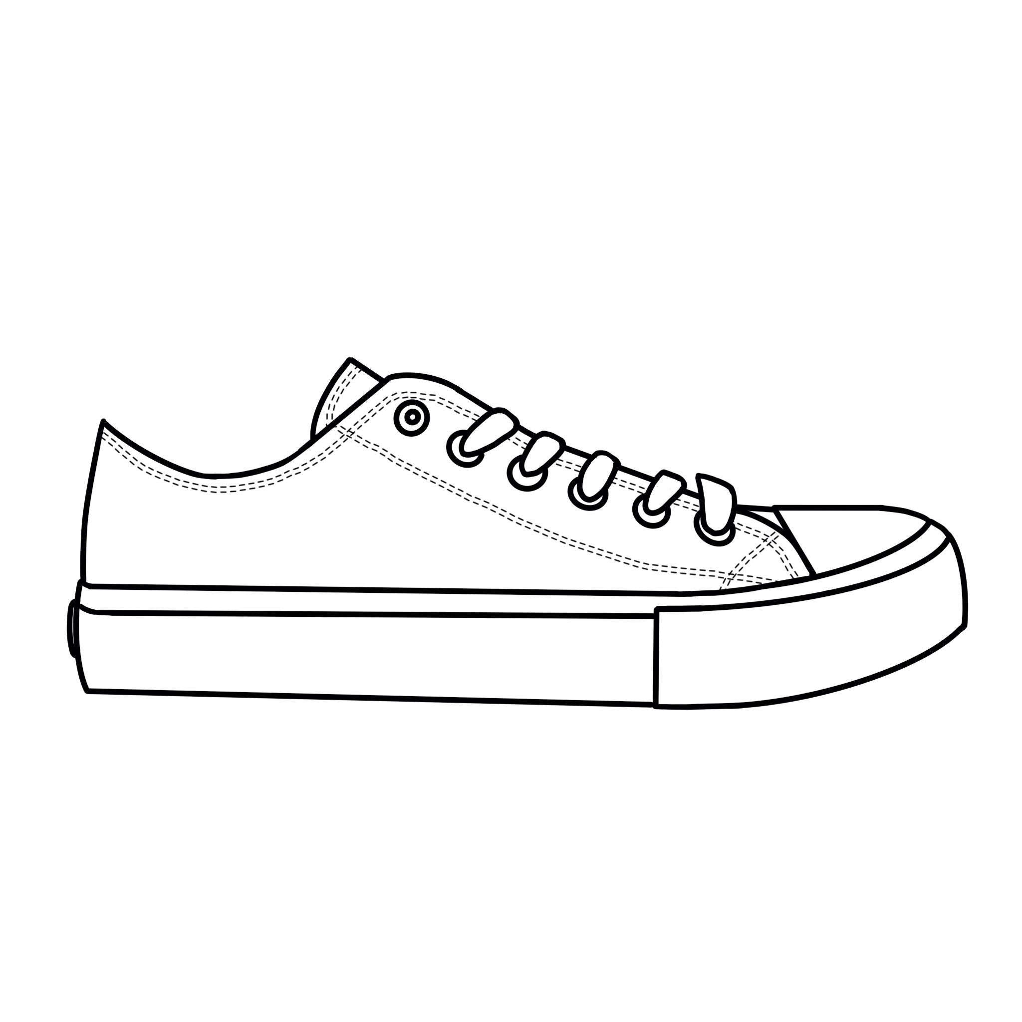 White Low Tops Shoes