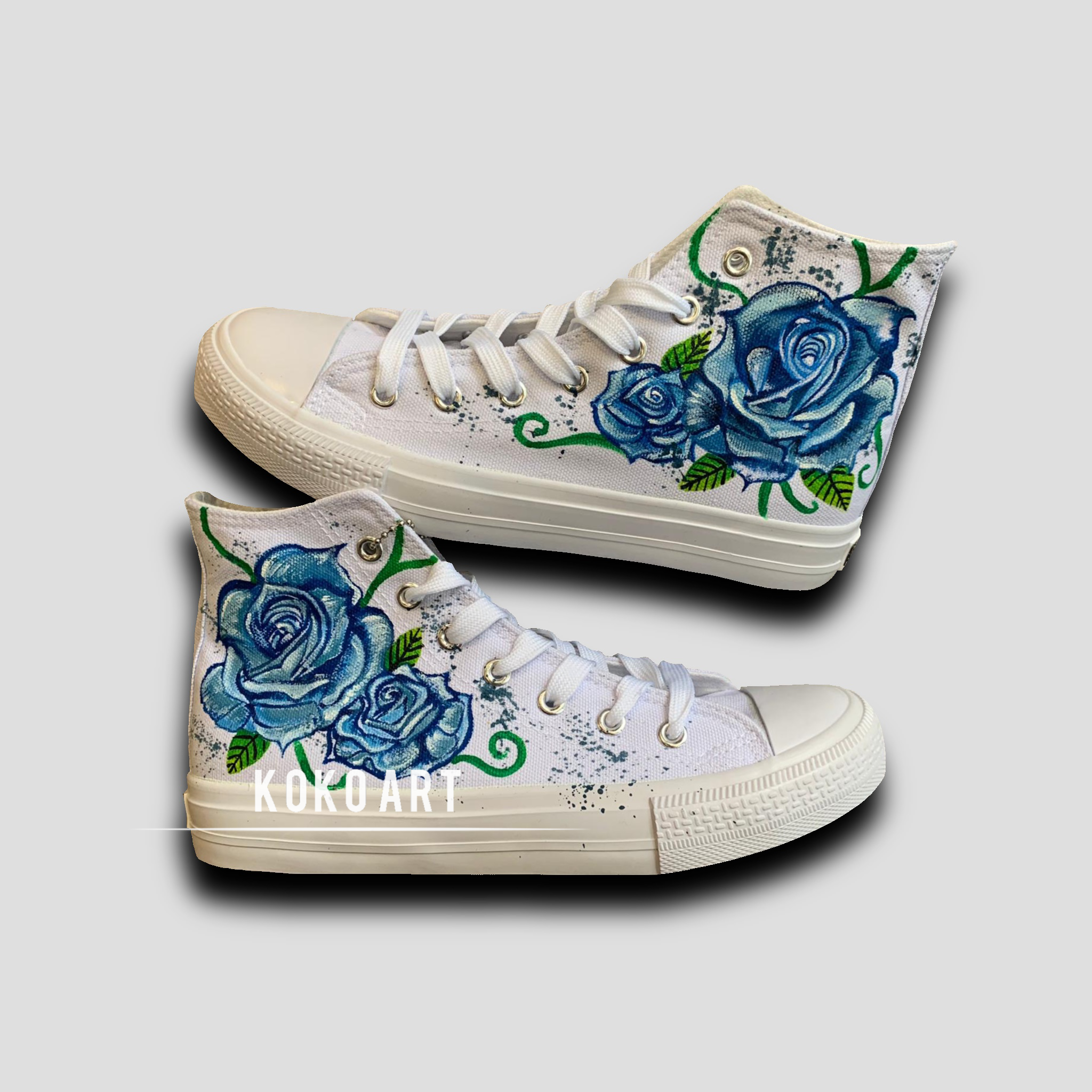 Blue Roses - Kids - Shoes