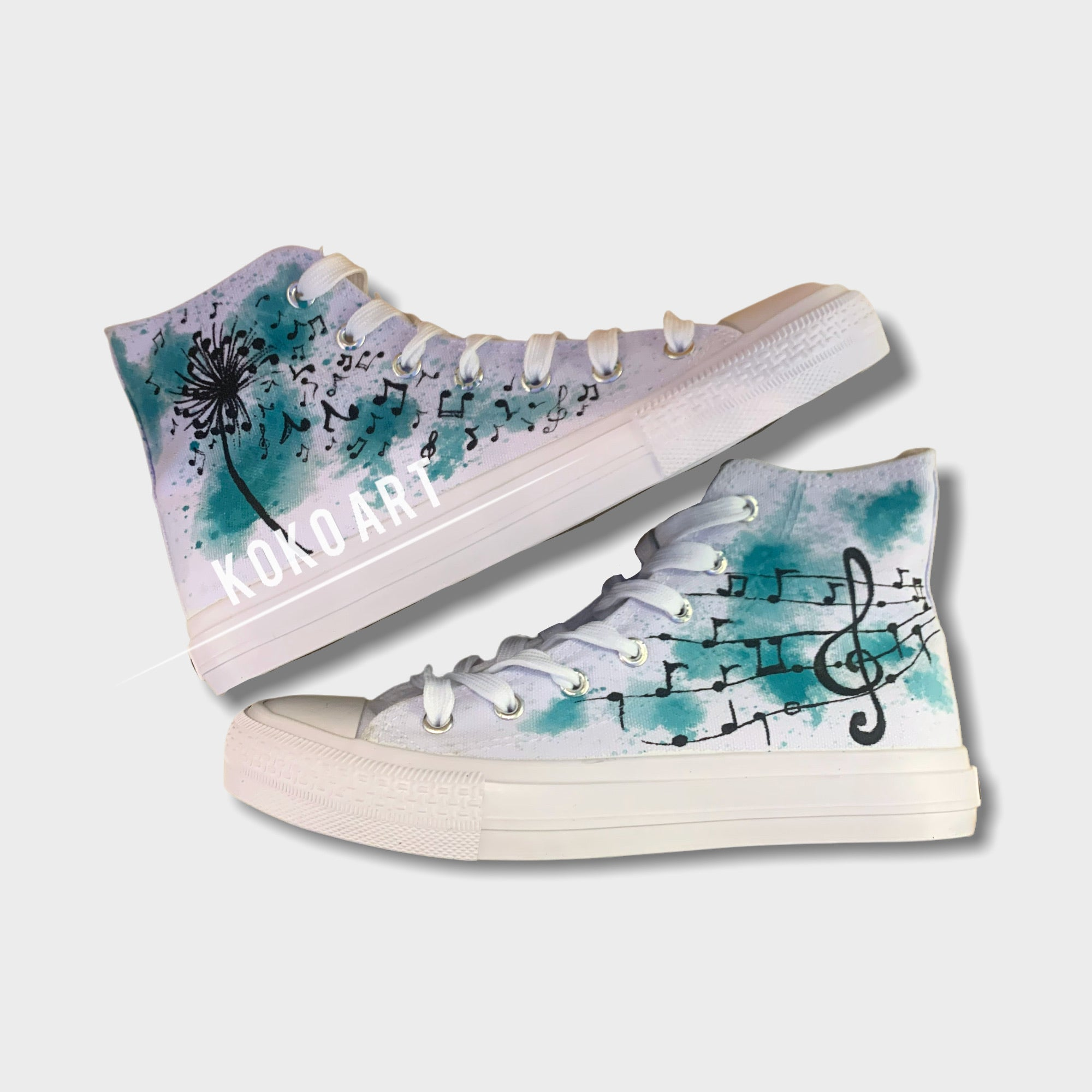 Music Notes - Kids - Shoes