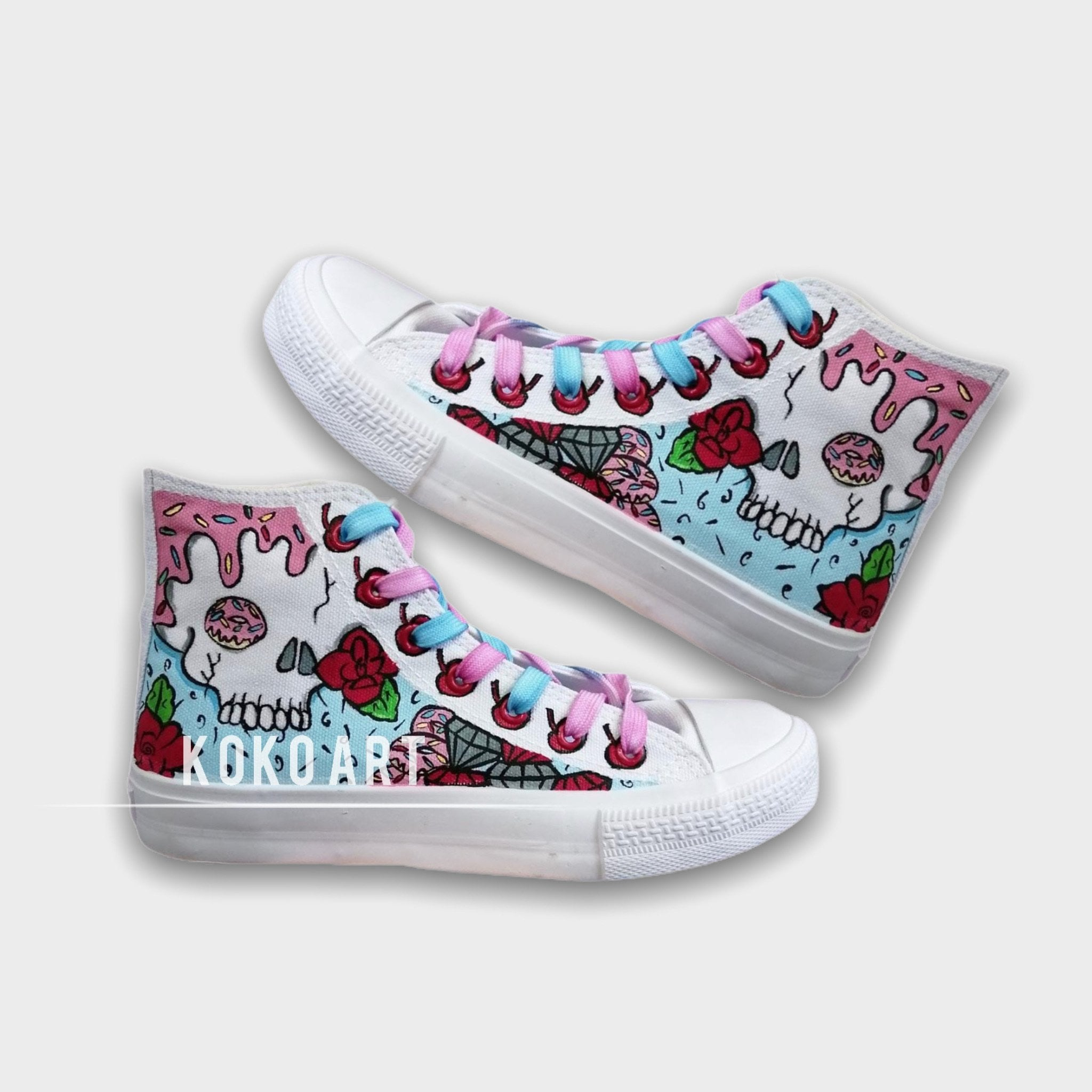 Candy Skulls - Adults - Shoes