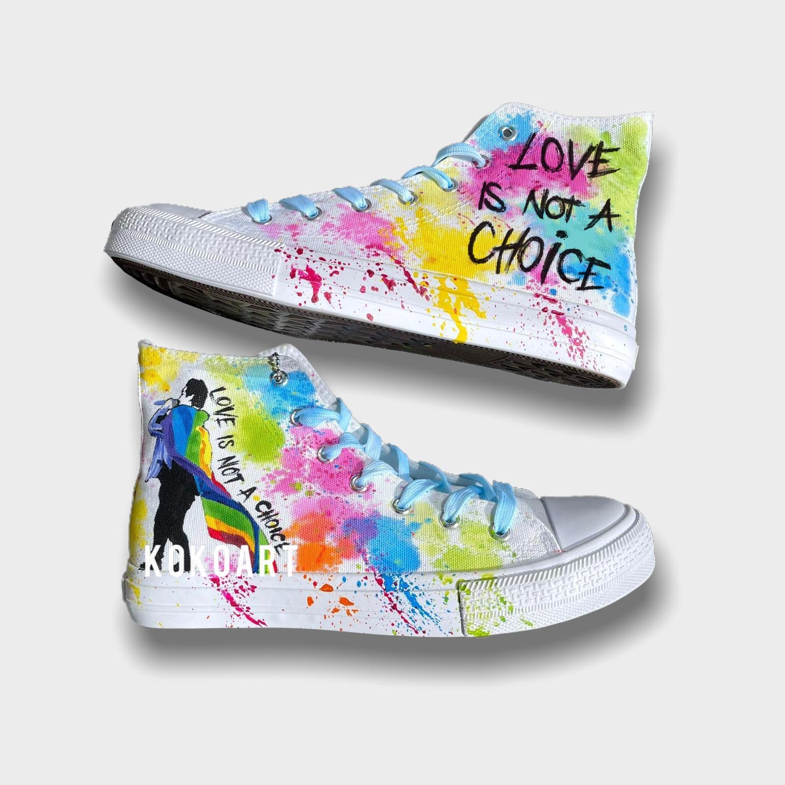 Love is not a Choice - Adults - Shoes