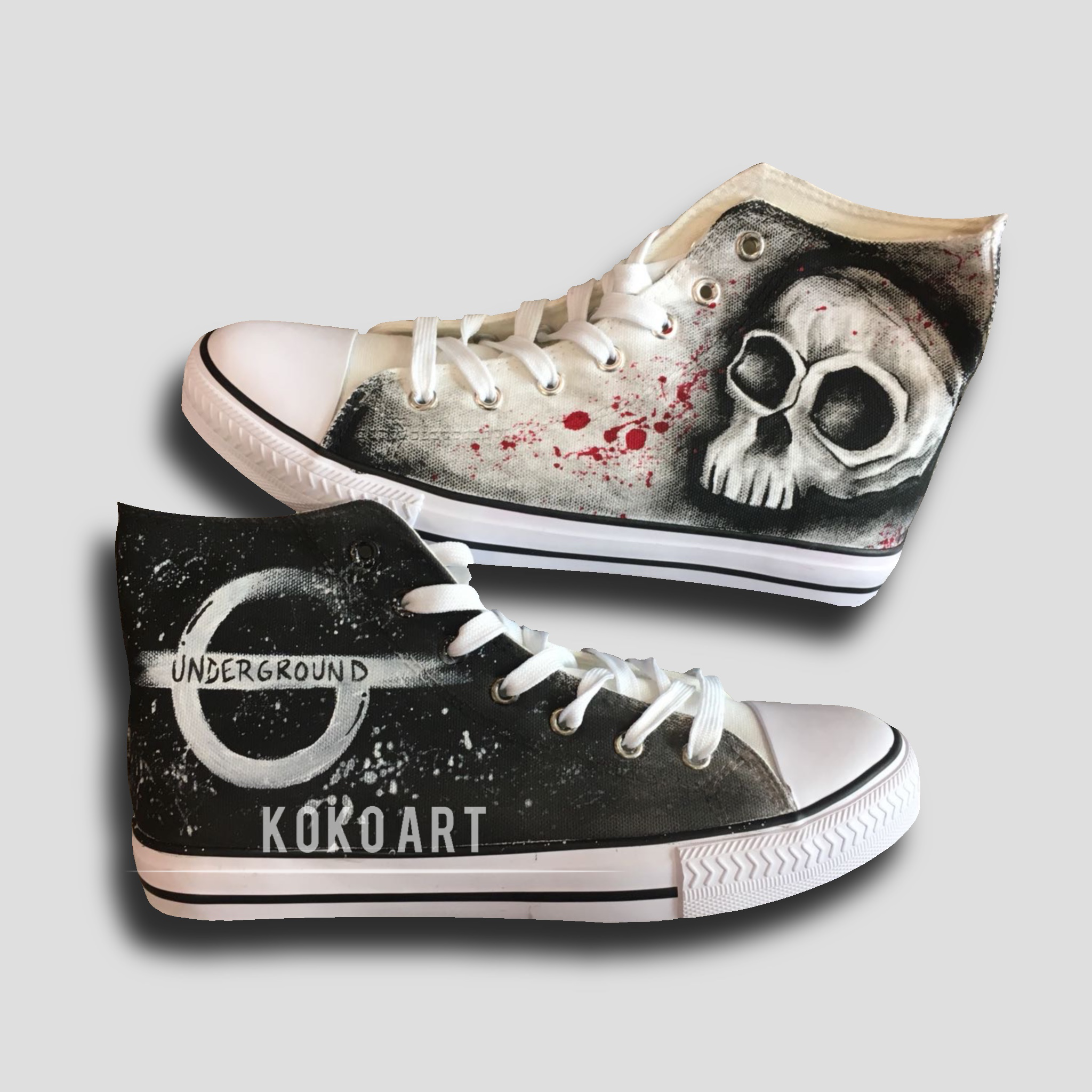Skull - Adults - Shoes