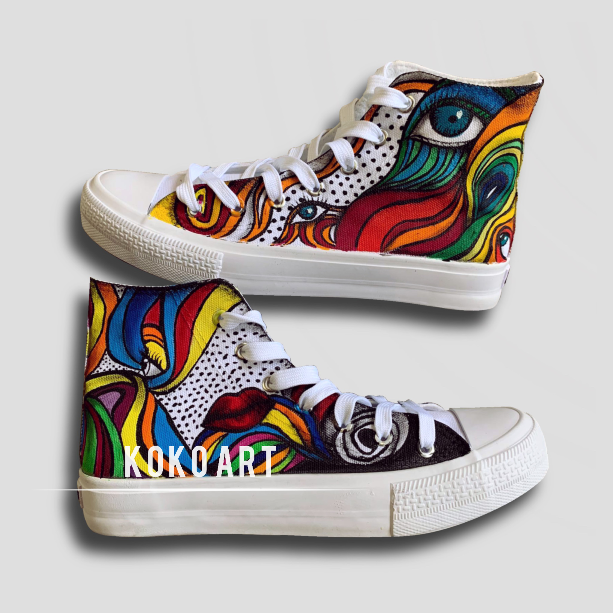 Art - Adults - Shoes