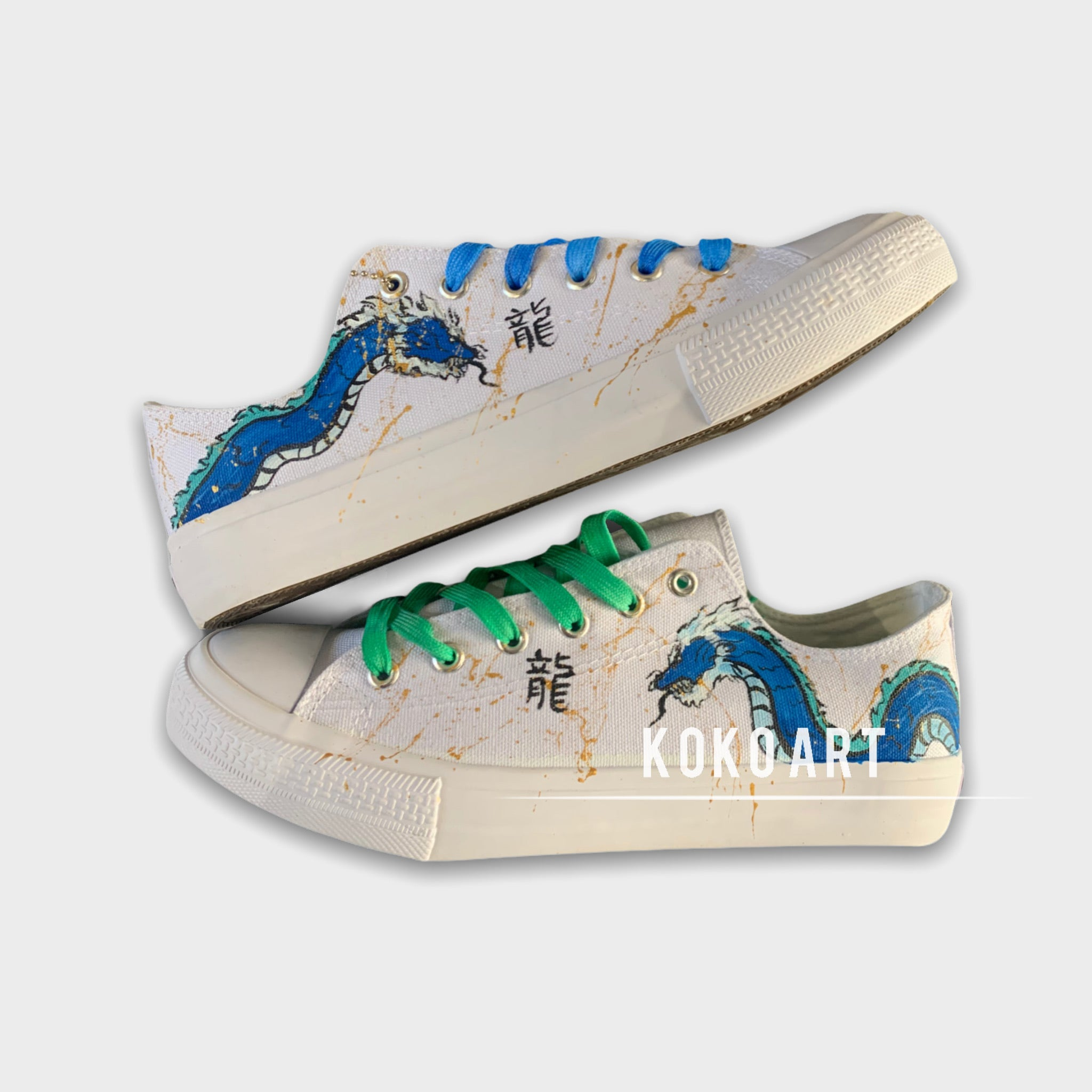 Blue Dragon - Adults - Shoes
