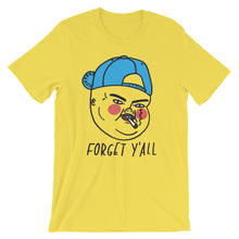 'forget y'all' soft jersey t-shirt
