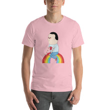 'rainbow rider' soft jersey t-shirt