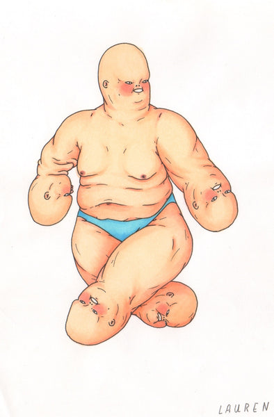 'baby hands' drawing