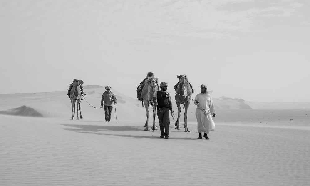 Connecting Cultures In The Arabian Desert
