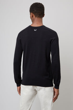 Black Merino Sweater