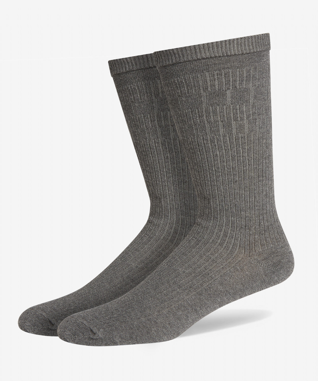 GREY SOFT GRIP COTTON SOCKS