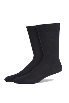 Navy Fine Gauge Fine Flat Knit Sock