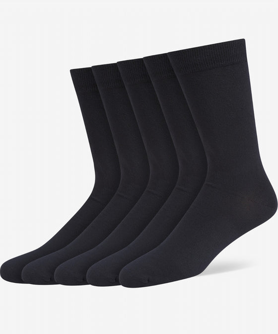 NAVY CLASSIC BAMBOO SOCK [5 PACK]