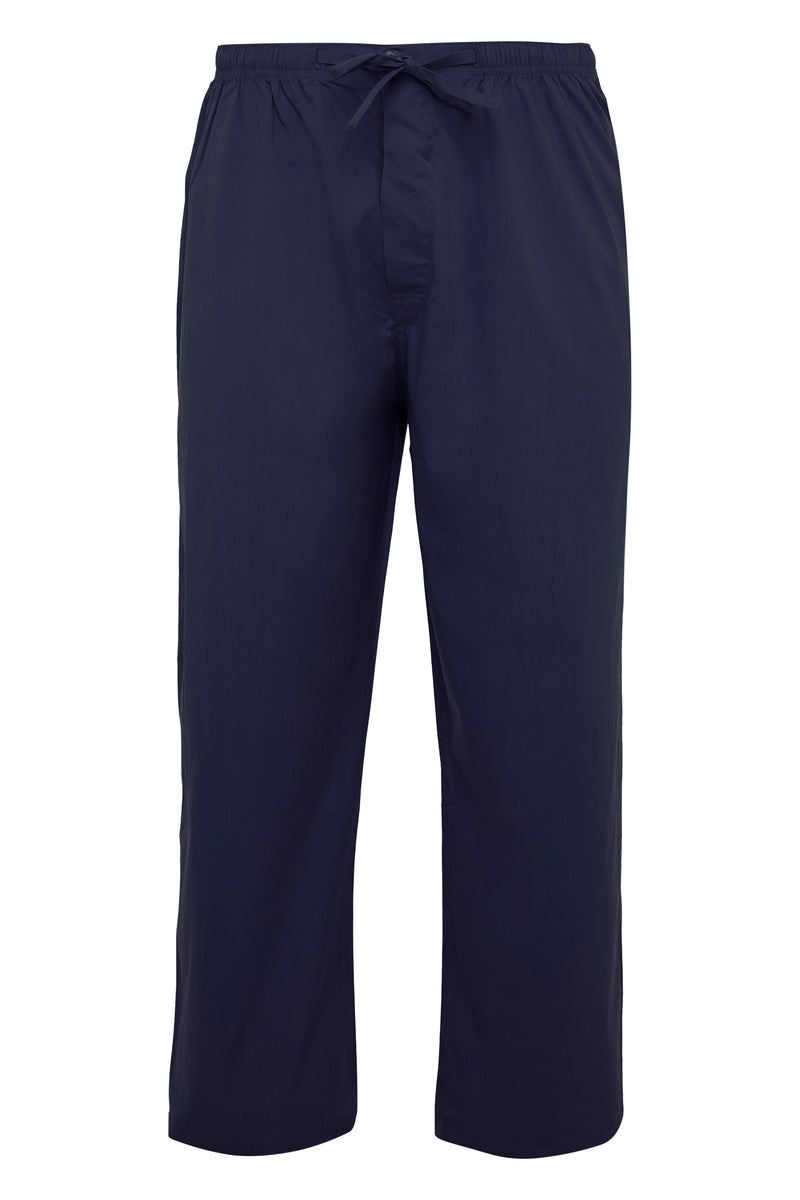 Navy Soft Cotton Pyjama Trouser [Twin Pack]